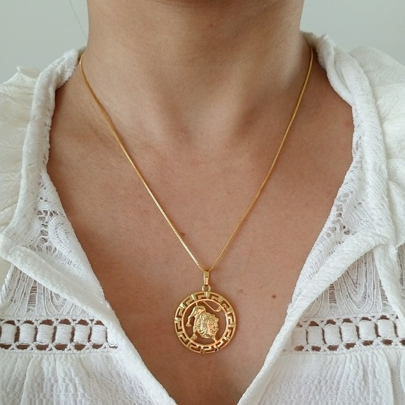 The Leo Gold Filled Necklace